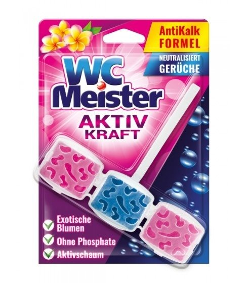 Zawieszka do toalety WC Meister - zapach egzotycznych kwiatów